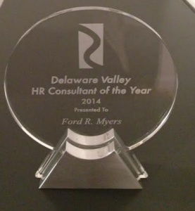 Ford Myers  hr consultant of the year